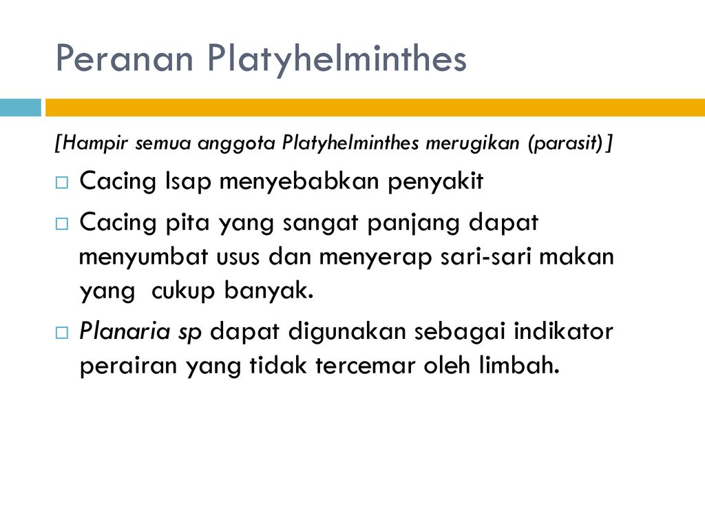 filum platyhelminthes és nemathelminthes)